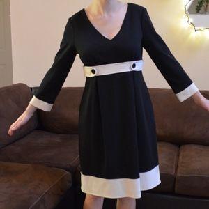 White House Black Market Classic Style Dress